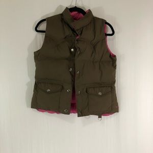 American Eagle Reversible Puff Vest